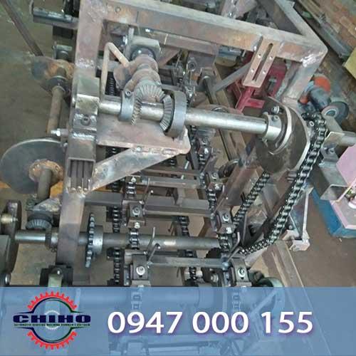 Thông tin của máy uốn đai sắt tự động do cơ khí CHIHO thiết kế