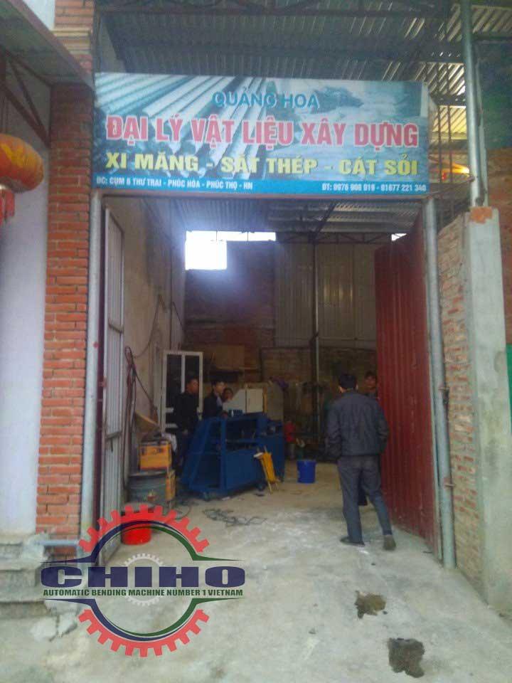Bán máy bẻ đai sắt tại Hà Nội - Đại Lý Vật Liệu Xây Dựng Quảng Hoa