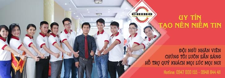 Đội ngũ CHIHO bảo hành chuyên nghiệp