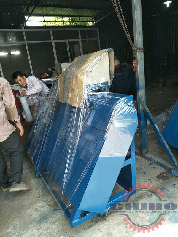 Tính hiệu quả của máy bẻ đai sắt tại Chiho