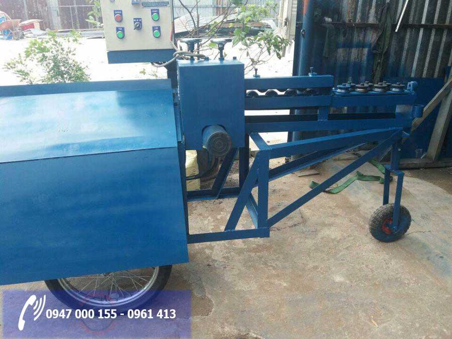 Thiết kế máy bẻ đai sắt tho yêu cầu tại Quảng Ninh
