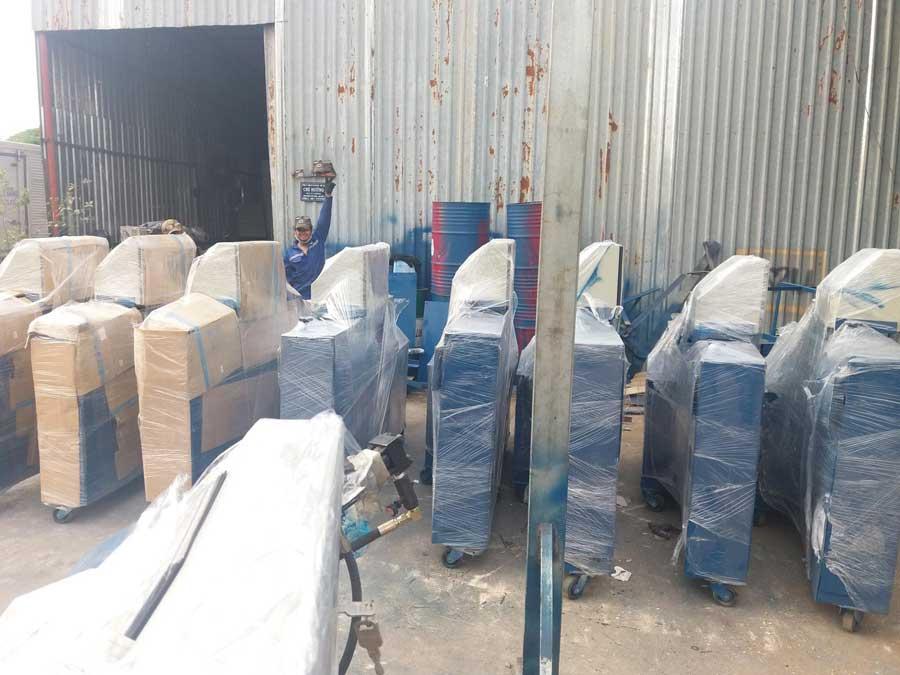 Giao máy bẻ đai sắt tại Hà Nội