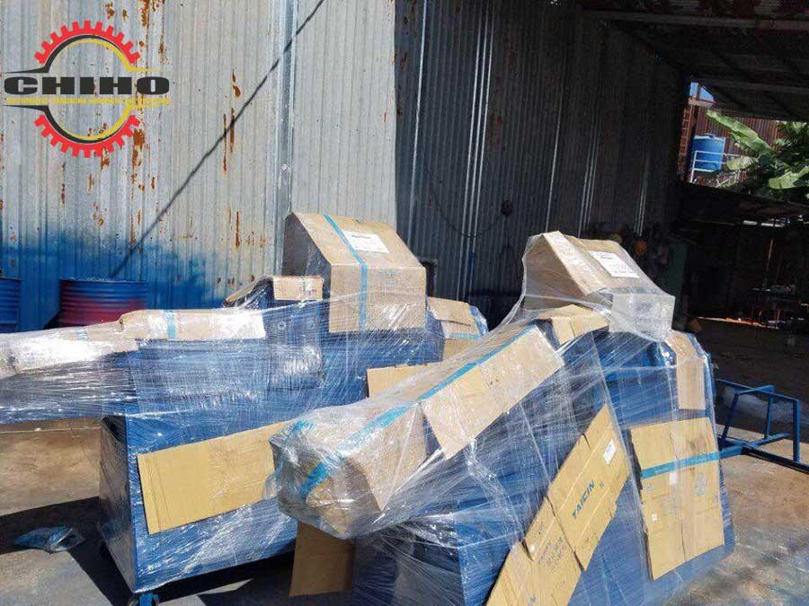 Lô máy bẻ đai giao tại hải Phòng