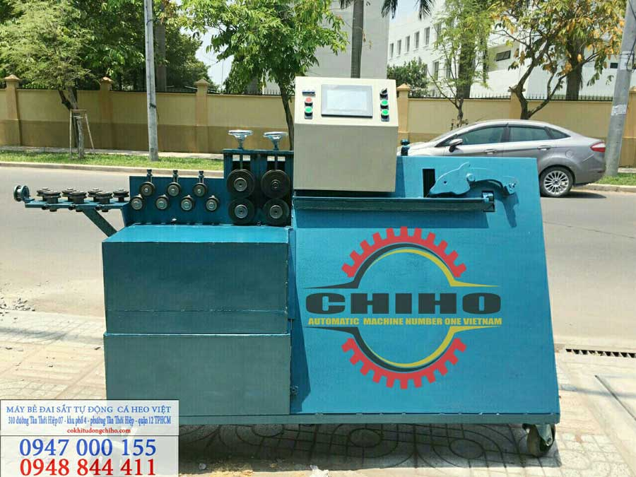 Các ưu điểm của máy nắn sắt tự động CHIHO mang đến cho ngành cơ khí