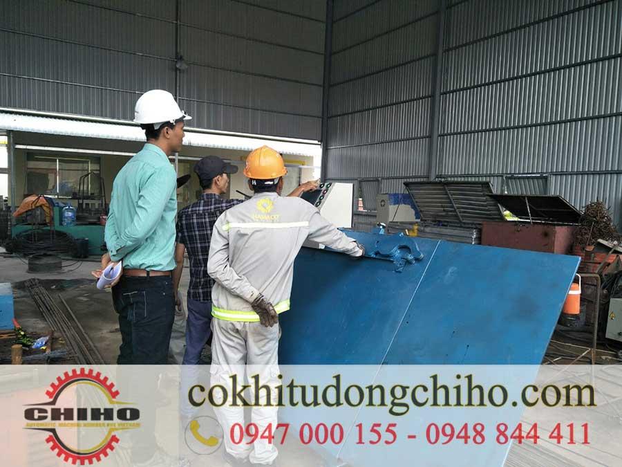Máy bẻ đai sắt chiho: không thể thiếu trong xây dựng
