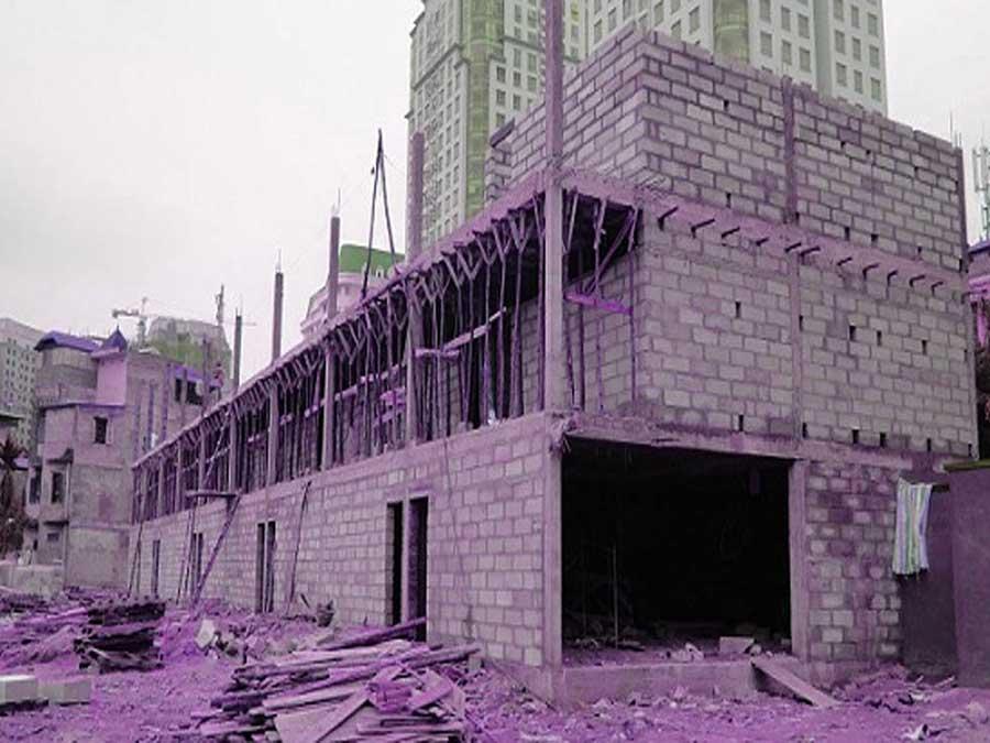 nhà xây dựng bằng gạch không nung