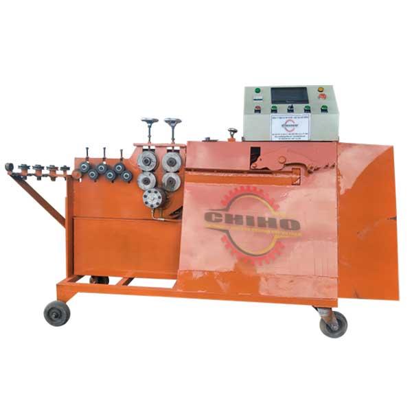 Cách dùng cách dùng máy bẻ đai thép cũng như máy bẻ đai sắt Cá Heo Chí Hướng?