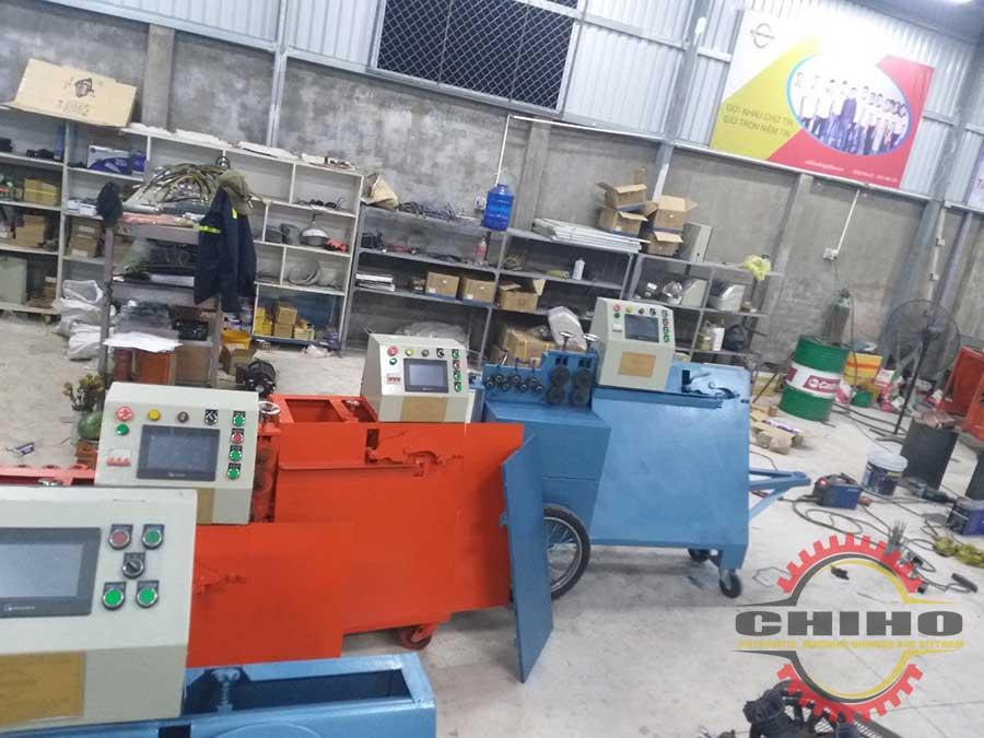 Nhà cung cấp máy bẻ đai sắt Chí Hướng